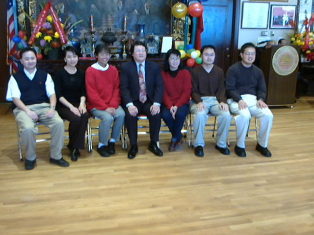 Youth Group Officers & Members, Jan., 2003